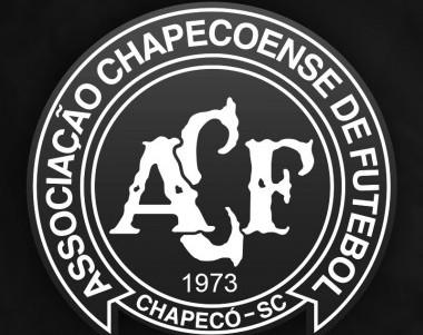 The official Twitter account of Chapecoense uploaded this image of the clubs logo after the disaster.