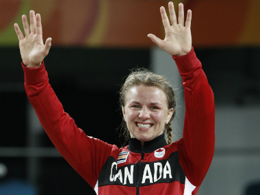 File image of Erica Wiebe. AFP