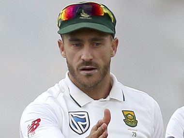 File photo of South Africa's Faf du Plessis. AP