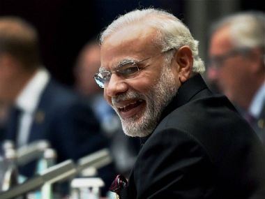 A file photo of Narendra Modi. PTI