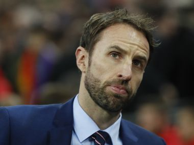 File photo of England's new full-time manager Gareth Southgate. AP