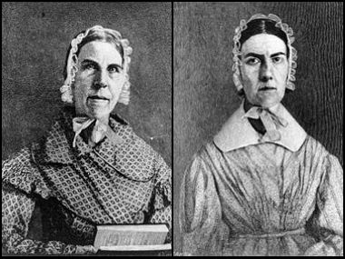 The Grimke Sisters - Angelina and Sarah -