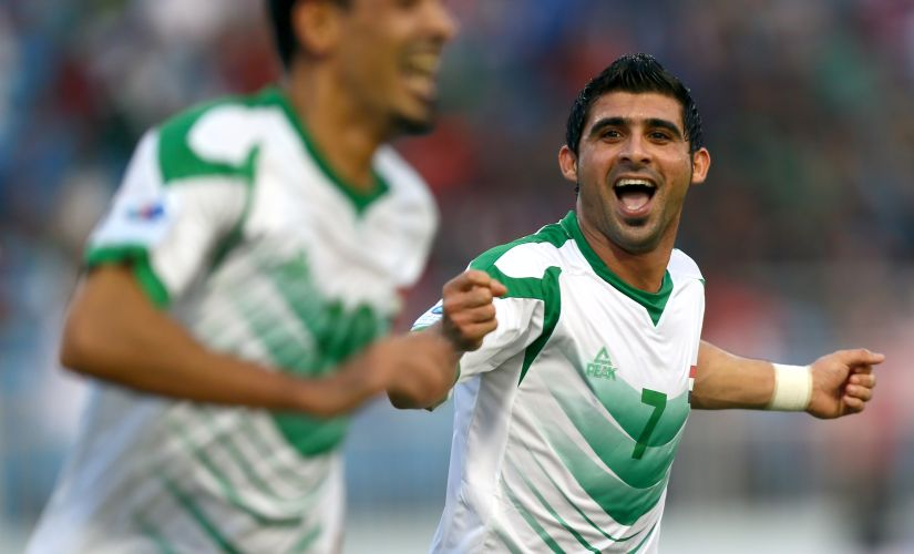 Hammadi Ahmed Abdullah is the tournament's top scorer and the chief threat to Bengaluru FC. AFP