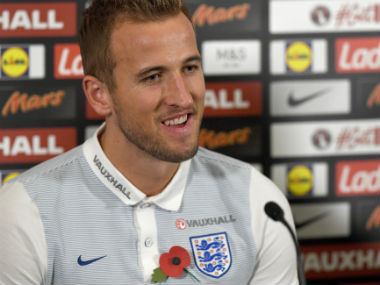 File photo of Harry Kane. AFP