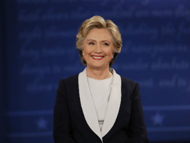 A file photo of Hillary Clinton. Reuters