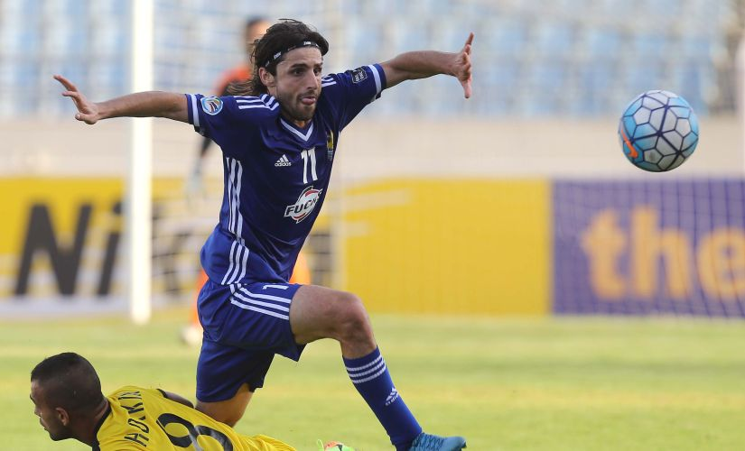 Humam Tareq is one of the finest talents in Iraq and would be keen to make his mark. AFP
