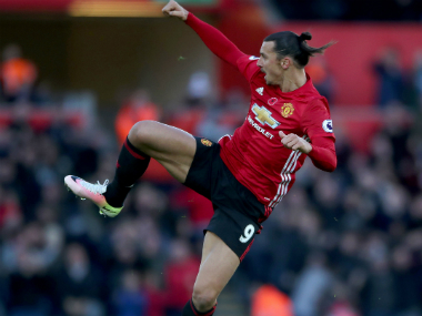 File photo of Zlatan Ibrahimovic. AP