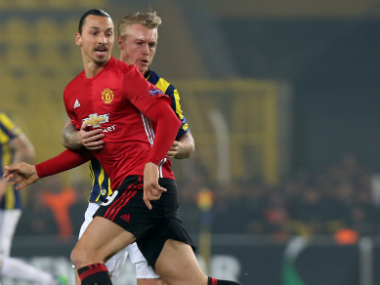 Zlatan has been out of form lately, but has received his manager's backing. AFP
