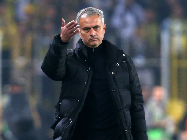 Jose Mourinho was critical of his team after their defeat in Turkey. AFP