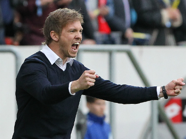 File image of Julian Nagelsmann. AFP