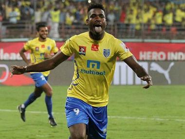 File image of Kerala Blasters in action. Twitter/@KeralaBlastersFC