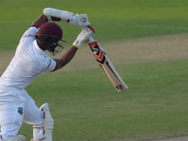 Kraigg Brathwaite's stunning innings earned West Indies a crucial victory. AFP