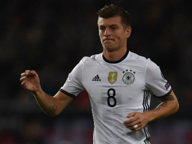 File image of Germany's Toni Kroos. AFP