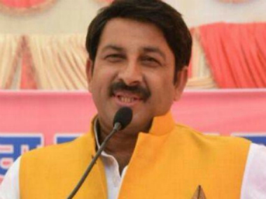 Manoj Tiwari appointed Delhi BJP chief