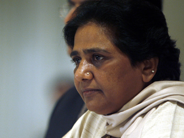 "Chief Minister of the northern Indian state of Uttar, Pradesh Mayawati, attends a news conference in New Delhi July 20, 2007. Mayawati's party, Bahujan Samaj Party (BSP), a party of ""untouchables"", is in power in India's most populous state, Uttar Pradesh, the first time a political group championing Hinduism's lowest caste has headed a majority government in any Indian state. REUTERS/Tanushree Punwani (INDIA)"