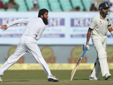 Moeen Ali and his fellow England spinners would have to step up on day four. AFP