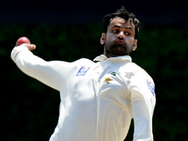 File photo of Pakistan's Mohammad Hafeez. AFP