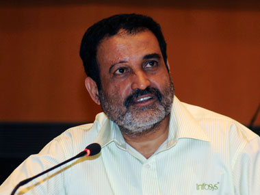 File image of Mohandas Pai. Reuters