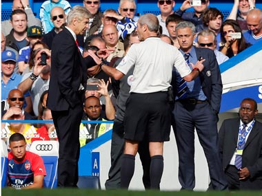 Arsene Wenger and Jose Mourinho have had a frosty relationship. Reuters