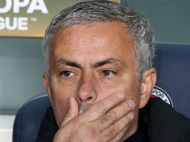 File image of Manchester United boss Jose Mourinho. AFP