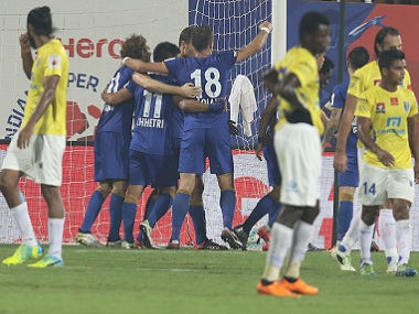 ISL 2016 Big defeat to Mumbai City FC hurts Kerala Blasters goal difference may hit playoff chances