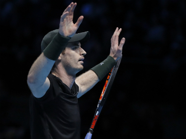File photo of Andy Murray. AP