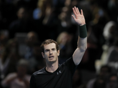 Andy Murray after his win against Stan Wawrinka. AP