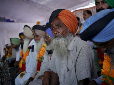 Army veterans protesting against OROP. Reuters