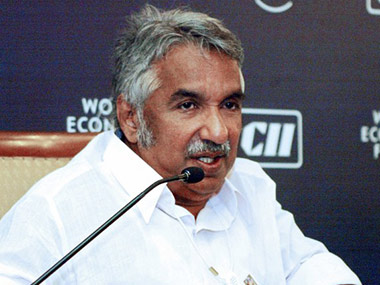 Former Kerala Chief Minister Oommen Chandy. AFP