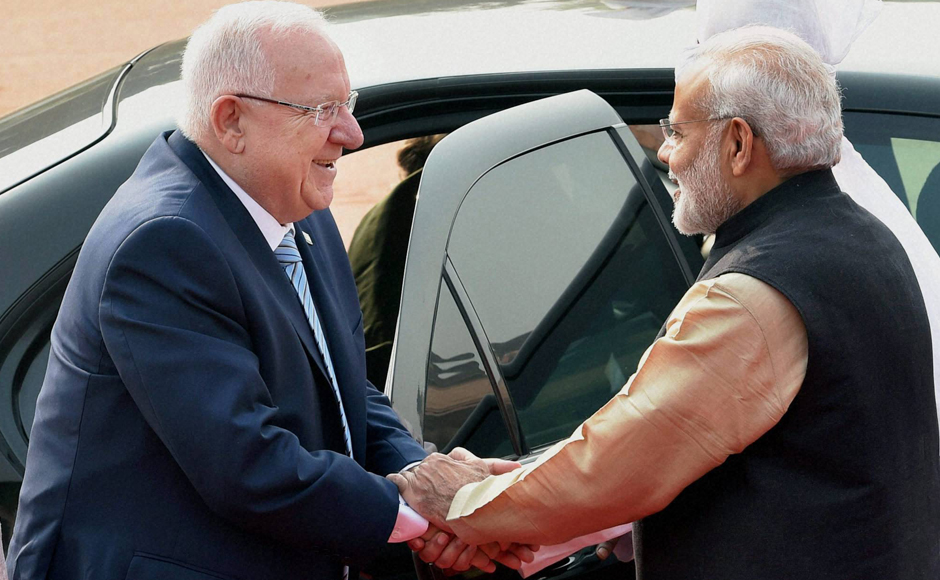 Indo-Israel relations strengthen with President Reuven Rivlin's India visit