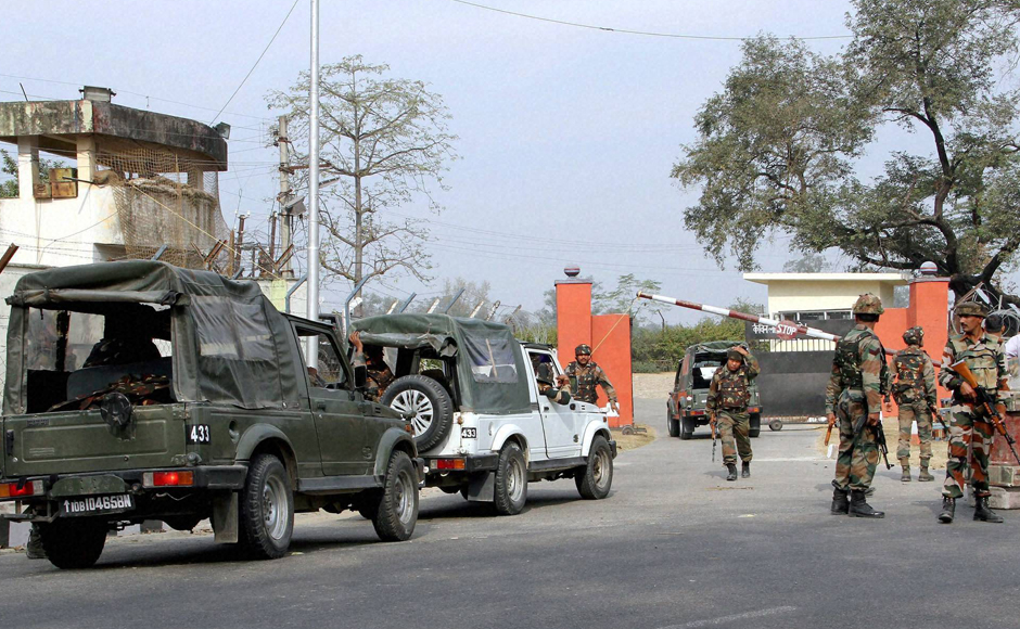 After the initial offensive, a hostage-like situation emerged with almost 12 soldiers, two ladies and two children held captive in a camp in the headquarters. The army successfully freed all the hostages, however, one more officer and two jawans lost their lives during the rescue operation. (Photo: PTI)