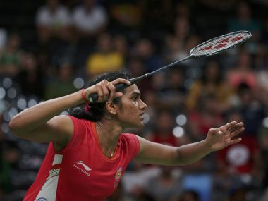 File photo of PV Sindhu of India. Reuters