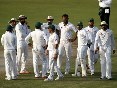 Pakistan cricket team. Getty