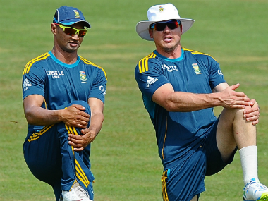 File image of Alviro Petersen (L). AFP