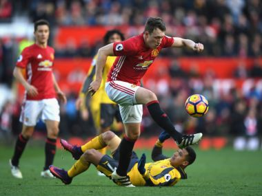 File photo of Phil Jones. Getty