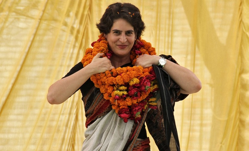 Huge support for Priyanka to play larger role: Congress