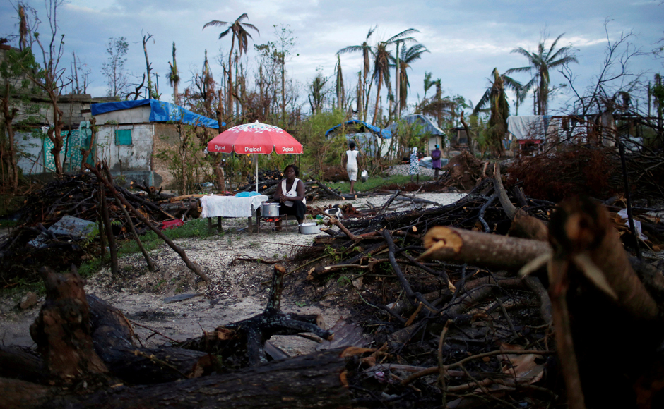 An army of international relief teams have put enormous work into cleaning contaminated wells, distributing millions of water-purifying tablets and installing water treatment stations in areas that bore the worst of the hurricane. Reuters
