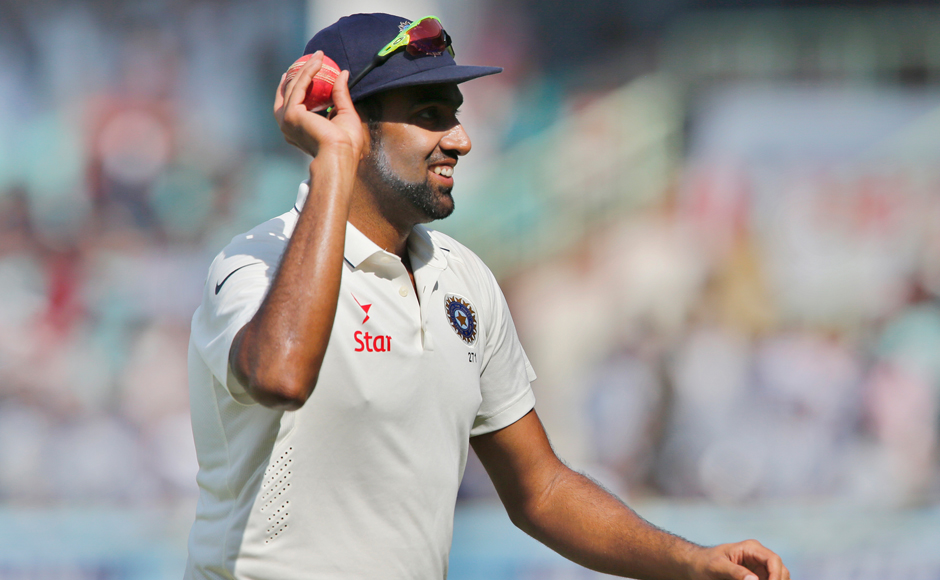 Ravichandran-Ashwin-finished-with-figures-of-5-for-67-his-22nd-Test-five-for-AP