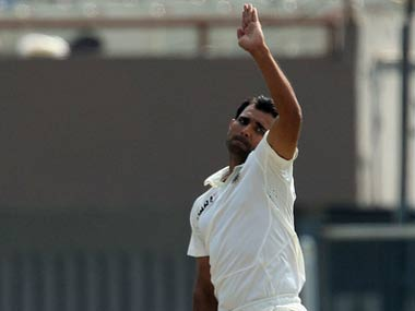 Mohammad Shami's biggest challenge will be to stay injury-free. Image courtesy: Twitter/@BCCI