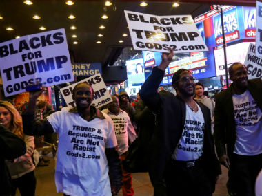 A considerable section of the minorities voted for Donald Trump. Reuters