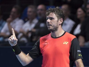 File photo of Stan Wawrinka. AP