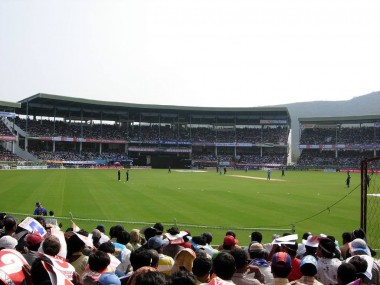 File photo of the ACA-VDCA Cricket Stadium in Vizag. Wikicommons