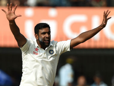 According to ex-captain Sourav Ganguly, Ashwin can't do the job for the team everytime. AFP