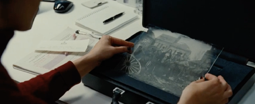 A still of the photo from the trailer.