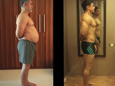 Aamir Khans fat to fit video highlights dramatic weight loss for Dangal Watch it here