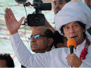 A file photo of Imran Khan. Reuters