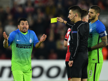 Inter Milan slumped to a 2-1 defeat against Southampton, as they await the appointment of a new manager. AFP