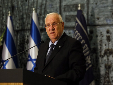 Israel President Reuven Rivlin arrives in Mumbai on a 6day visit to India