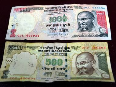 New Delhi:  Rs 500 and Rs 1000 notes now discontinued. PTI