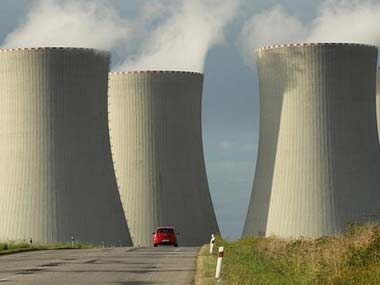 Nuclear power plant. Getty images